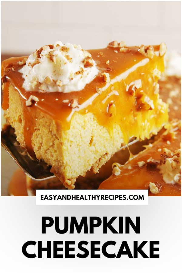 Best-Ever Pumpkin Cheesecake