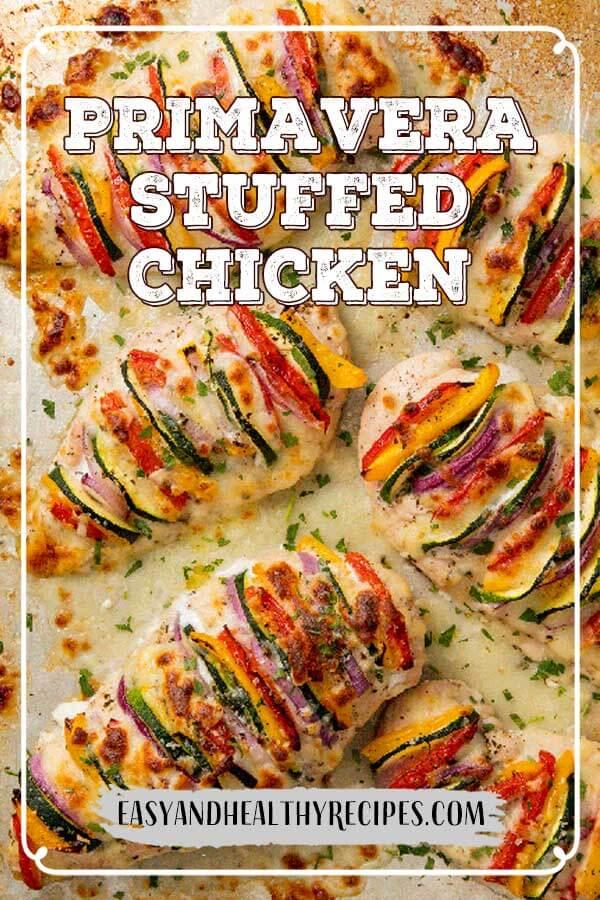 Primavera Stuffed Chicken