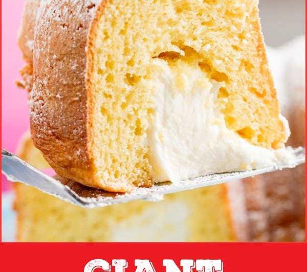 Giant Twinkie Cake