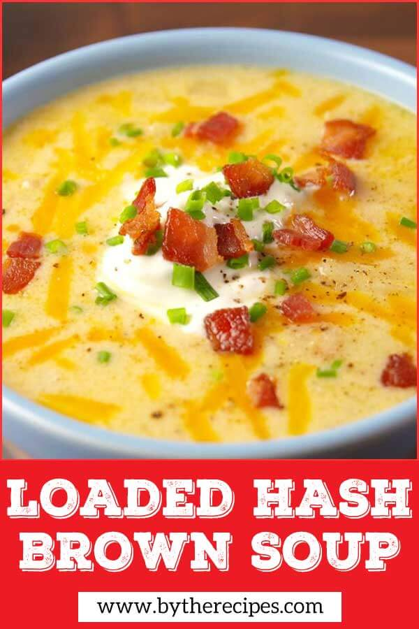 Loaded Hash Brown Soup